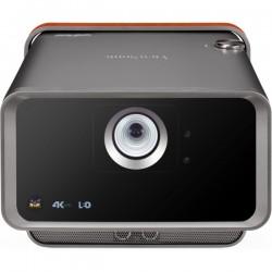 Viewsonic - X10-4K videoproyector 2400 lmenes ANSI LED 2160p 3840x2160 3D Proyector para escritorio Negro Marrn
