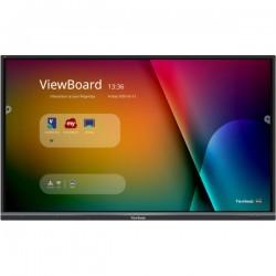 Viewsonic - IFP6550-3 pizarra y accesorios interactivos 1651 cm 65 3840 x 2160 Pixeles Pantalla tctil Negro HDMI