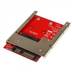 StarTechcom - Adaptador Conversor de SSD mSATA a SATA de 25 Pulgadas - Convertidor