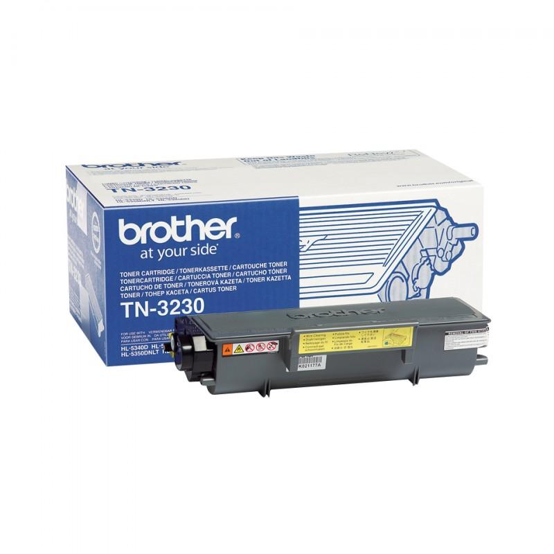 Brother - TN-3230 cartucho de tner Original Negro 1 piezas