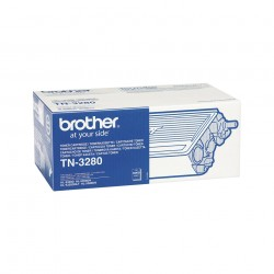 Brother - TN-3280 cartucho de tner Original Negro 1 piezas