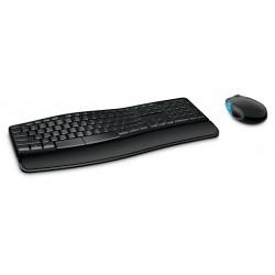Microsoft - Sculpt Comfort Desktop RF inalmbrico Espaol Negro
