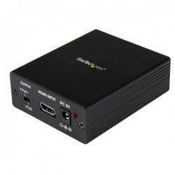 StarTechcom - Adaptador Conversor Audio y Vdeo HDMI a VGA HD15 o Vdeo Componente YPrPb - Convertidor 1080p