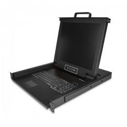StarTechcom - RKCONS1701 consola de rack 432 cm 17 1280 x 1024 Pixeles Acero 1U