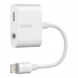 Belkin - RockStar 35 mm  Lightning Lightning Blanco