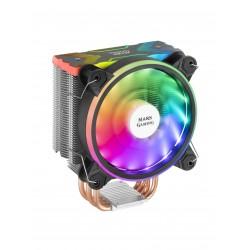 Mars Gaming - MCPUX ventilador de PC Procesador Enfriador 12 cm Negro 1 piezas