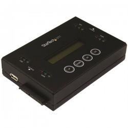 StarTechcom - Borrador y Clonador de Unidades de Disco SATA de 25 y 35 - Copiador de Unidades de Memoria Flash USB