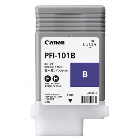 Canon - PFI-101B Original Azul 1 piezas