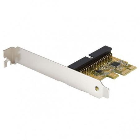 StarTechcom - Tarjeta Adaptadora PCI Express PCI-E Controladora IDE PATA UDMA 133 PCIe 1 Puerto