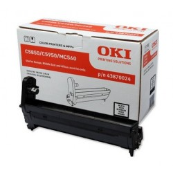 OKI - Black image drum for C5850/5950 tambor de impresora Original