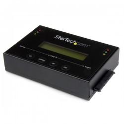 StarTechcom - Clonador de Discos Duros SATA Autnomo de 25 / 35 Pulgadas con Biblioteca de Imgenes de HDD Mltiples