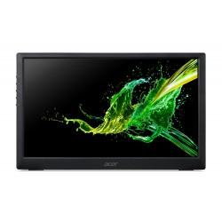 Acer - PM161Q 396 cm 156 1920 x 1080 Pixeles Full HD LED Negro