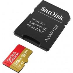 SanDisk - Extreme memoria flash 256 GB MicroSDXC UHS-I Clase 3