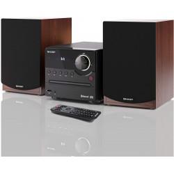 Sharp - SHARP XL-B512BR MICRO SOUND SYSTEM CON FM BT CD-MP3 USB 45W BR