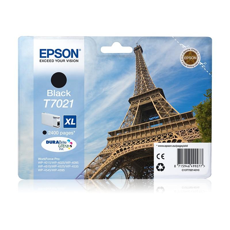 Epson - Eiffel Tower Cartucho T70214010 negro XL