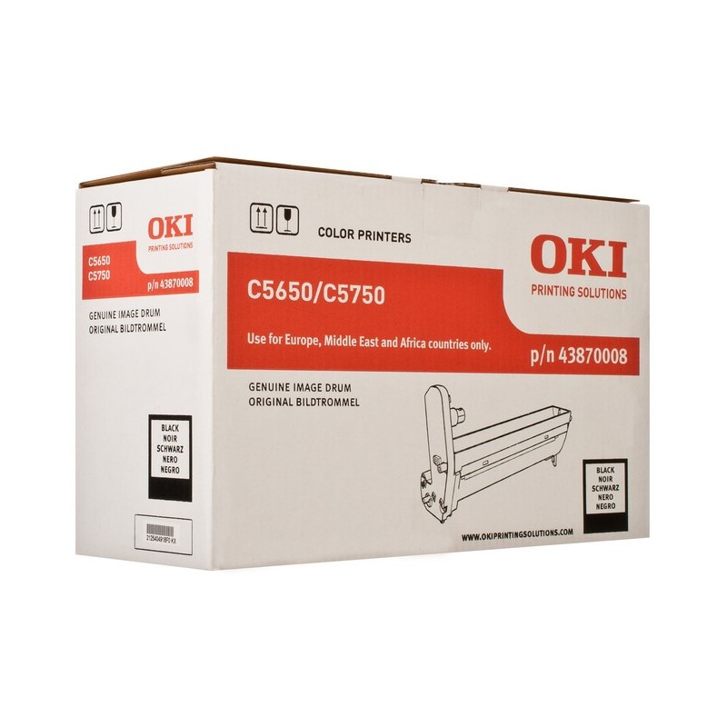 OKI - Black image drum for C5650/5750 tambor de impresora Original