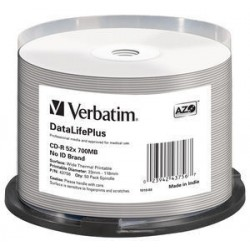 Verbatim - DataLifePlus CD-R 700 MB 50 piezas