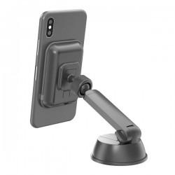 Celly - GHOSTCHARGEBK soporte Soporte activo para telfono mvil Telfono mvil/smartphone Negro