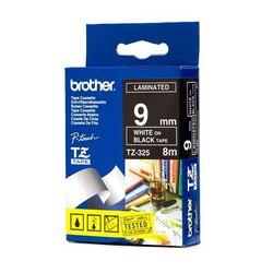 Brother - TZ-325 cinta para impresora de etiquetas Blanco sobre negro