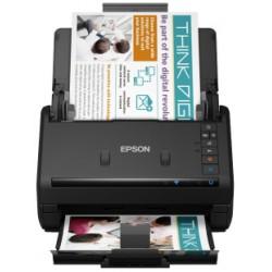 Epson - WorkForce ES-500WII Escner alimentado con hojas 600 x 600 DPI A6 Negro
