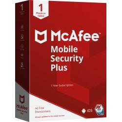 McAfee - Mobile Security Plus Espaol Licencia completa 1 licencias 1 aos