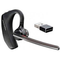 POLY - VOYAGER 5200 UC Auriculares gancho de oreja Negro