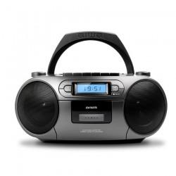 Aiwa - BBTC-550MG Reproductor de CD porttil Negro Plata