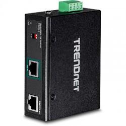 Trendnet - TI-SG104 divisor de red Negro Energa sobre Ethernet PoE