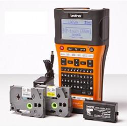 Brother - PT-E550WVP impresora de etiquetas 180 x 180 DPI Inalmbrico y almbrico HSE/TZe QWERTY