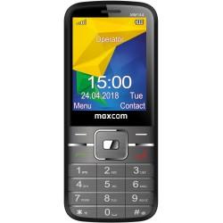 MaxCom - MM144 61 cm 24 81 g Negro Telfono para personas mayores