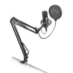 Trust - GXT 252 Emita Plus Negro Micrfono de estudio