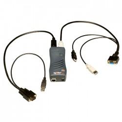 Lantronix - SecureLinx SpiderDuo interruptor KVM Negro - SLSLP400USB-01