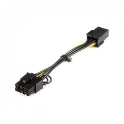 StarTechcom - Cable adaptador de alimentacin PCI Express de 6 pines a 8 pines
