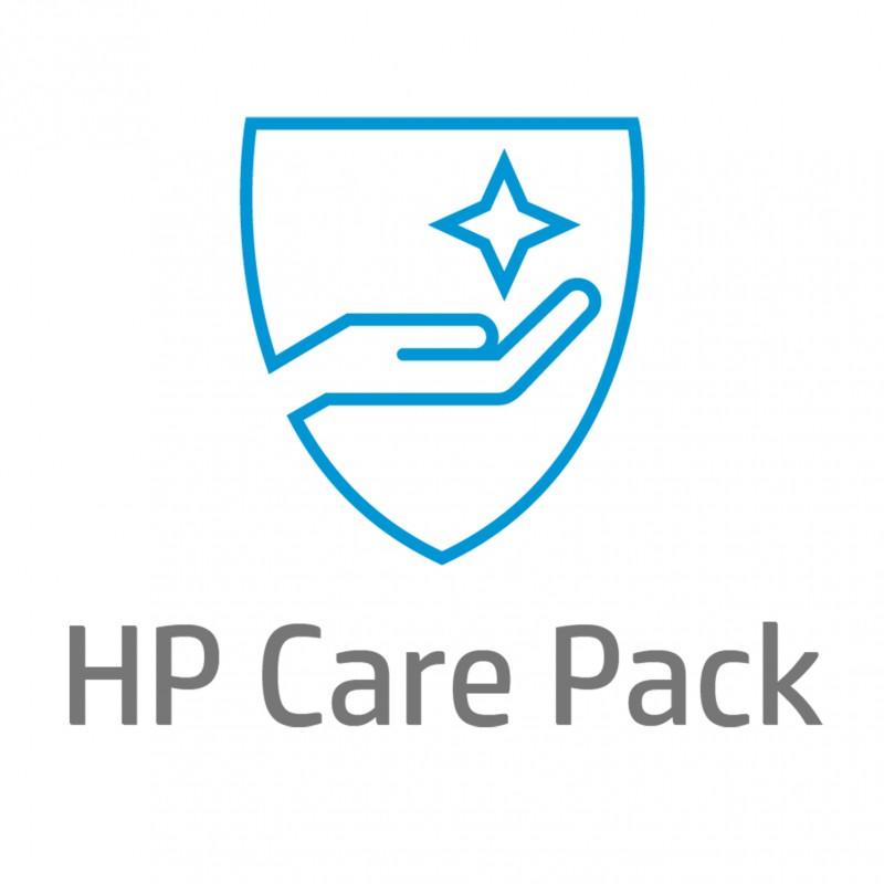 HP - Soporte de hardware  4 aos con recogida y devolucin slo para porttil con 1 ao de garanta