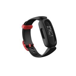Fitbit - Ace 3 PMOLED Pulsera de actividad Negro Rojo