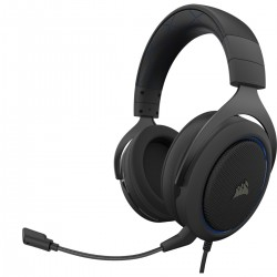 Corsair - HS50 PRO STEREO Auriculares Diadema Negro Azul