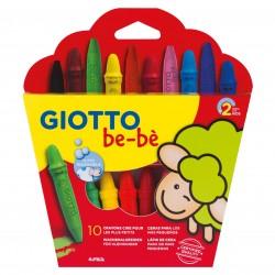 Giotto - ESTUCHE 10 CERAS BE-B SPER  SACAPUNTAS GIOTTO F479200