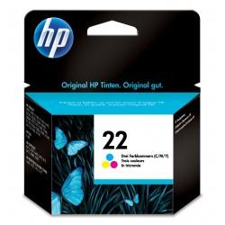 HP - 22 1 piezas Original Rendimiento estndar Cian Magenta Amarillo