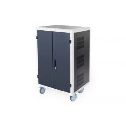 Digitus - DN-45000 carrito y armario de dispositivo porttil Carro de gestin y carga para dispositivos porttiles Negro