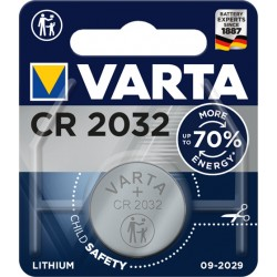 Varta - CR2032 Batera de un solo uso Litio