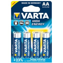 Varta - 4x AA Batera de un solo uso Alcalino