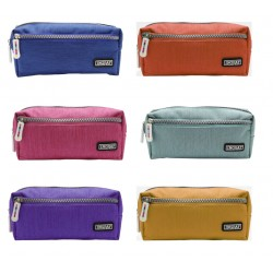 Ingraf - 350782 caja de lpices Estuche suave Polister Multicolor