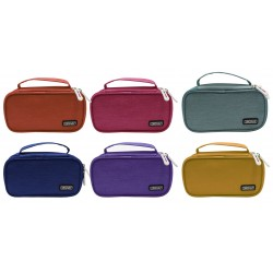 Ingraf - 350780 caja de lpices Estuche suave Polister Multicolor