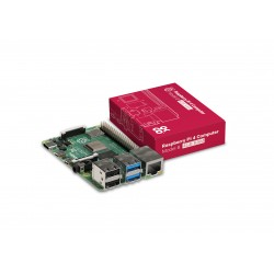Raspberry Pi - Caja Oficial Raspberry Pi 4 Rojo/Blanco