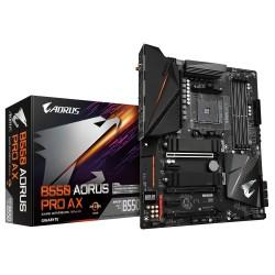 Gigabyte - B550 AORUS PRO AX placa base AMD B550 Zcalo AM4 ATX
