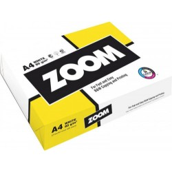 Zoom - PAQUETE 500H PAPEL 80GR A4 ZOOM CIE150 178802