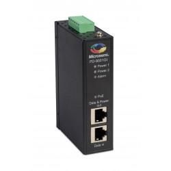 Microsemi - PD-9001GI/DC adaptador e inyector de PoE Gigabit Ethernet 50 V
