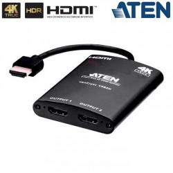 Aten - ATEN DISTRIBUIDOR HDMI TRUE 4K DE 2 PUERTOS VS82H-AT