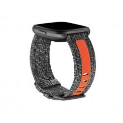 Fitbit - FB171WBGYTAL correa para control de actividad Carbn vegetal Naranja
