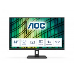 AOC - E2 U32E2N LED display 80 cm 315 3840 x 2160 Pixeles 4K Ultra HD Negro